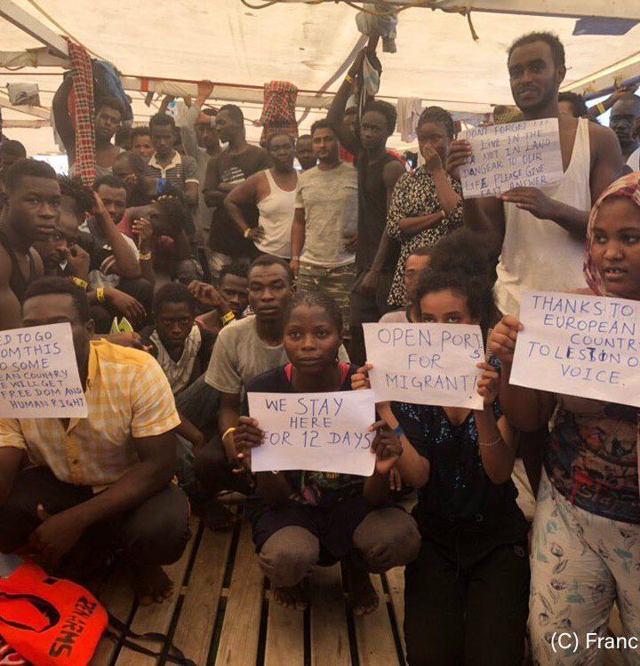 Fateli scendere: chi scappa dalla Libia ha diritto ad un porto sicuro