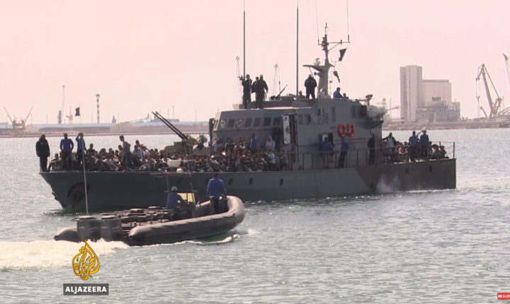 Rescued migrants describe life at Libya's detention centres