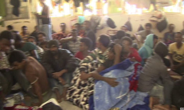 Inside Libya migrant detention centre