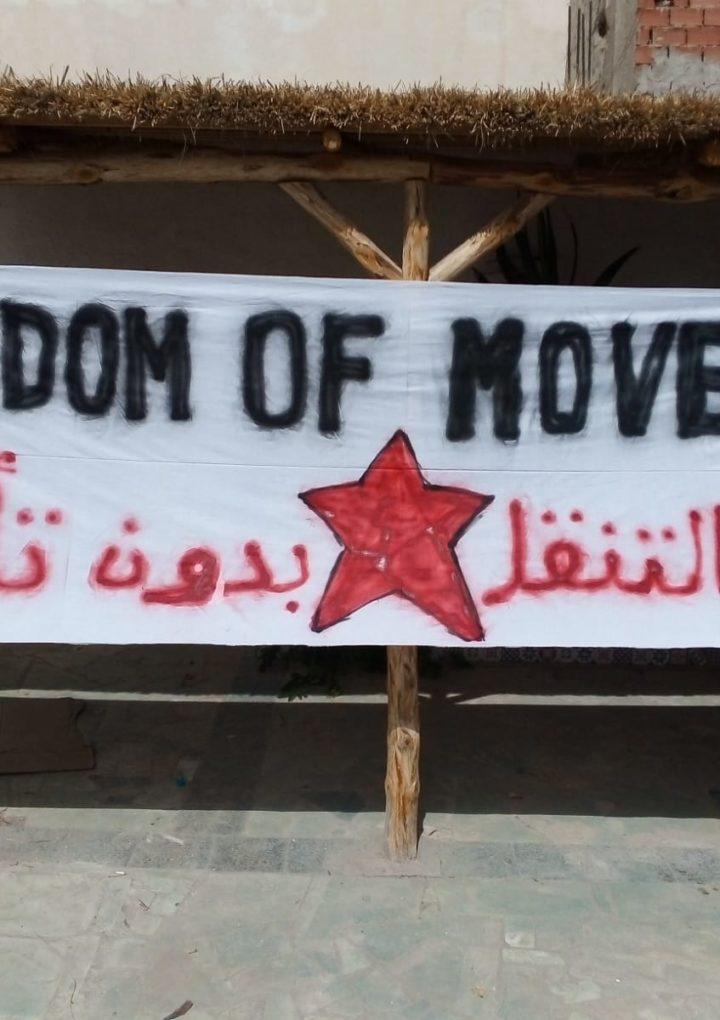 Attivisti italiani denunciano l'abbandono di migranti al confine con la Libia