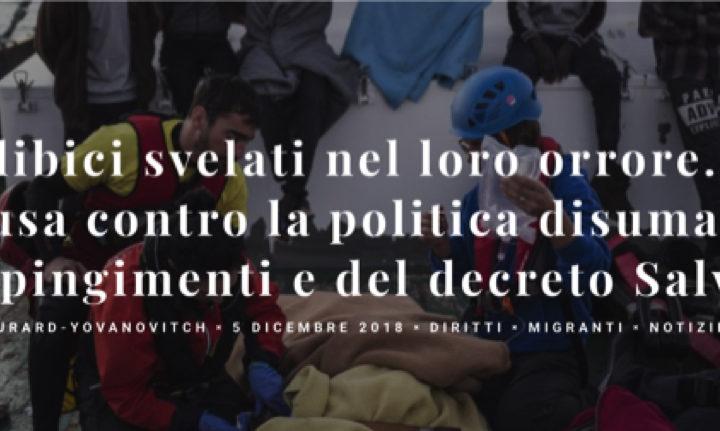 I lager libici svelati nel loro orrore. Un atto d'accusa contro la politica disumana dei respingimenti e del decreto Salvini