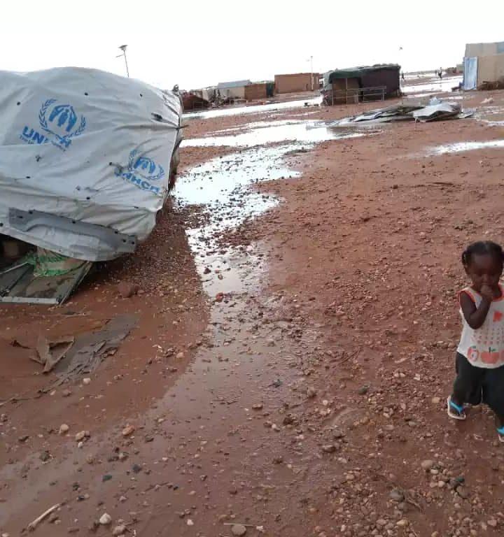 Niger. Devastato da una alluvione il campo profughi di Agadez