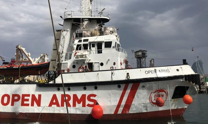 La Open Arms torna in mare e fa rotta verso la Libia