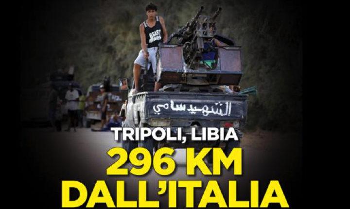 Tripoli, bel suol d'orrore