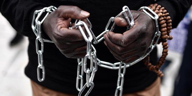 Riserve di schiavi sulle coste libiche