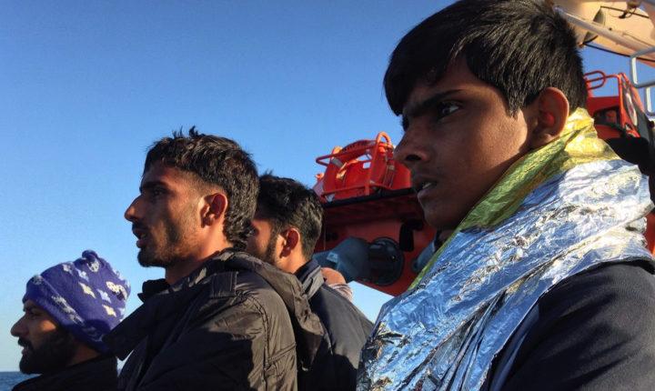 A bordo della Topaz Responder, dove si salvano vite umane